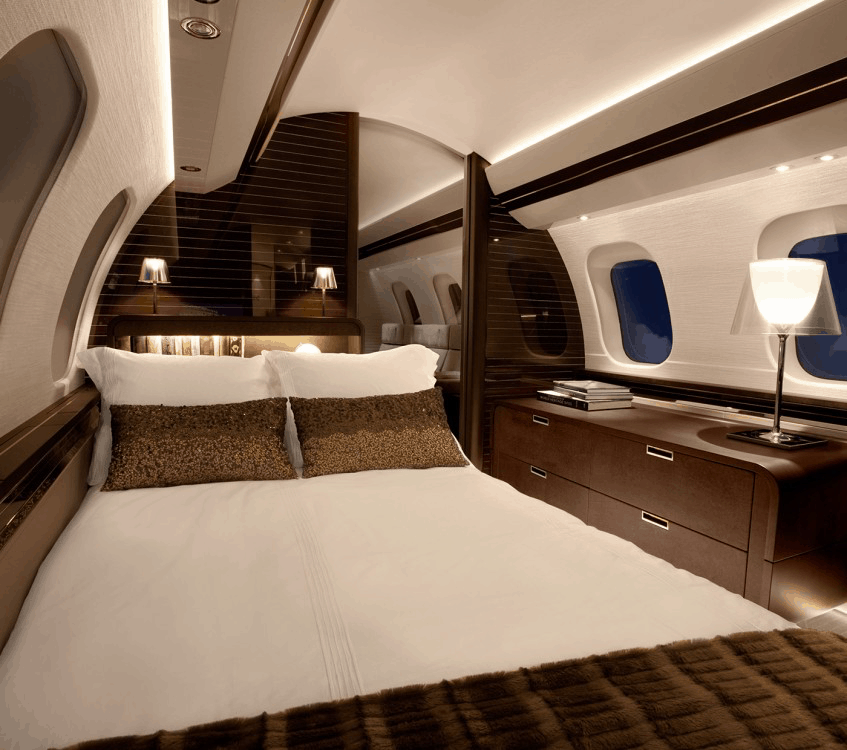 The Bombardier Global 7500 Interior